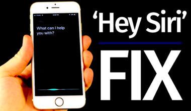 Hey Siri arbeitet nicht