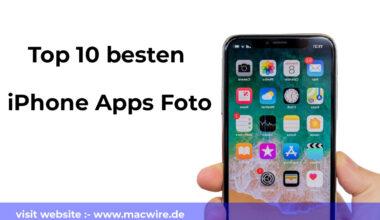 Top 10 besten iPhone Apps Foto