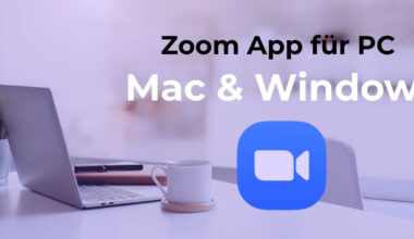 Zoom App für PC Mac Windows