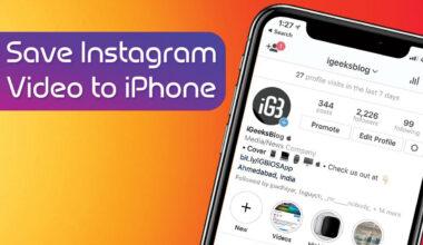 Instagram-Videos auf iOS-Geräten herunter