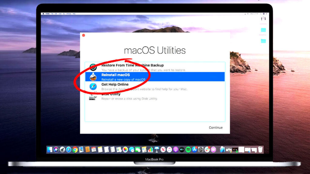 macbook zurücksetzen