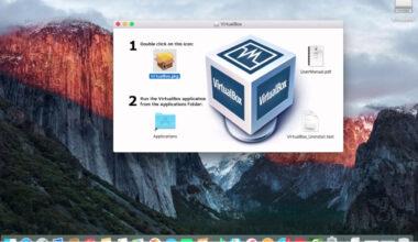 macos virtualbox