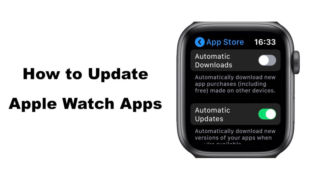 Update Apple Watch Apps