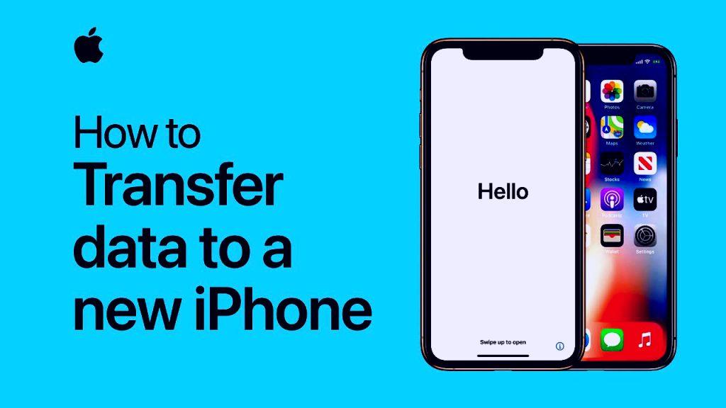 So übertragen Sie iPhone-Daten