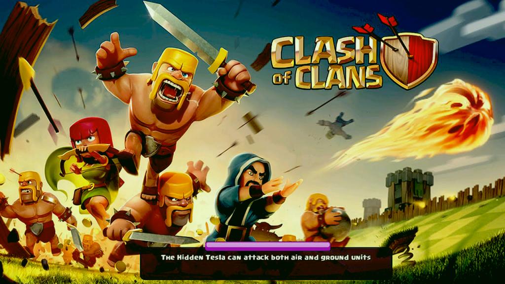 spielt Clash of Clans auf Windows und macOS