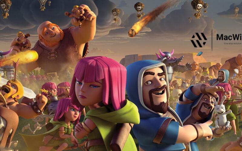Herunterladen Clash of Clans für PC