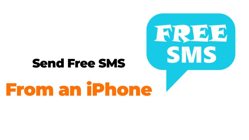 SMS-Textnachrichten von einem iPhone